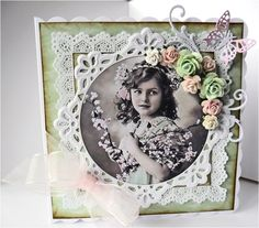 Betty's Crafty Place: My first Vintage card