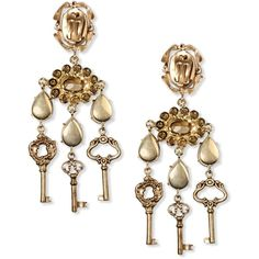 Dolce & Gabbana Earrings ($1,005) ❤ liked on Polyvore featuring jewelry, earrings, dolce&gabbana and dolce gabbana jewelry