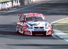 HRT - Mark Skaife/Garth Tander 2006 Bathurst 1000 - Peter Brock Tribute Bonnet Racing Team, Road Racing, Australian V8 Supercars, Team Wallpaper, Nascar, Touring, Cool Cars, Race Cars, Super Cars