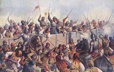 One of the strangest military formations ever seen in Europe, Hussite war wagons struck fear into their opponents during the early century. Medieval, Military Art, Military History, Valhalla, Catholic Beliefs, History Online, Dark Ages, 15th Century, Roman Empire