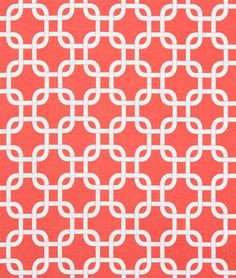 Shop Premier Prints Gotcha Coral/White Fabric at onlinefabricstore.net for $9.98/ Yard. Best Price & Service.