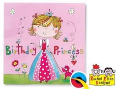 Rachel Ellen Partyware Princess Party Plastic Tablecover