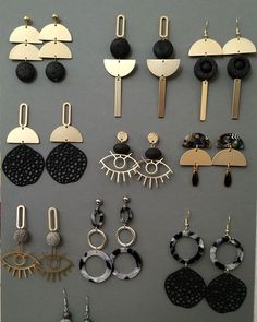 The dream of Panorea earrings – Accessories – # earrings # … - Accesories Cute Jewelry, Jewelry Shop, Jewelry Crafts, Jewelry Design, Jewelry Making, Jewelry Stores, Jewelry Hooks, Jewelry Findings, Beach Jewelry