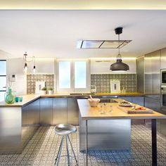 Cocina con isla #inspiration