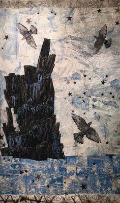 ☆ Kiki Smith (American, b. 1954), Harbor, 2015. Woven tapestry.