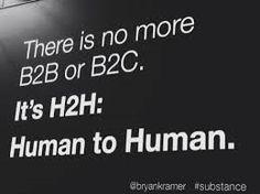 Mundo Marketing: O Fim do B2B e B2C e a Nova Era do H2H.