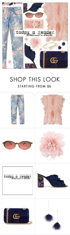 """""""#100."""" by annakirillovna ❤ liked on Polyvore featuring Deby Debo, Rebecca Minkoff, Ann Demeulemeester, WALL, Loeffler Randall, Gucci and Ettika"""