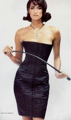 Yasmeen Ghauri for Dolce & Gabbana ~ 1990s