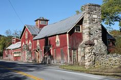 Kimlin Cider Mill, Poughkeepsie, NY. Used to ride our bikes to the cider mill to have cider and donuts among all the taxiderm animals!