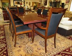 EXCELSIOR DESIGNS BELLAGIO ROSEWOOD DINING TABLE PLUS 8 CHAIRS   MADE IN  ITALY