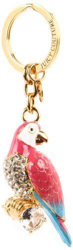 Juicy Couture Parrot Key Chain. I wanttt.