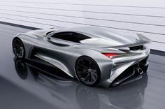 Picture of Infiniti Unveils Concept Vision Gran Turismo: Virtual Supercar for Gran Turismo 6 Bugatti, Maserati, Sexy Cars, Hot Cars, Supercars, Jaguar, 2015 Infiniti, Automobile, Futuristic Cars