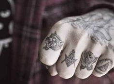 Some Mystical Finger Tats