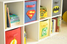 sugartotdesigns: Superhero Room / / Updated!!