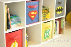 sugartotdesigns: Superhero Room / / Updated!!