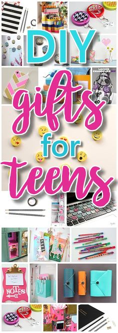 The BEST DIY Gifts for Teens, Tweens and Best Friends - Easy, Unique and Cheap Handmade Christmas or Birthday Present Ideas to make for you and your BFFs!! - Dreaming in DIY