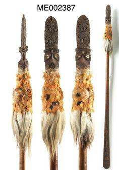 Taiaha with kuri fur New Zealand, Carving, Weapons, Fur, Culture, Inspiration, Google, Jewelry, Maori