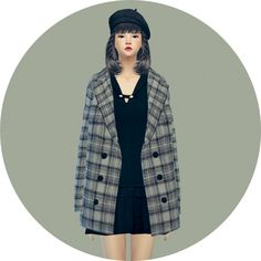 ACC winter coat checked at Marigold via Sims 4 Updates