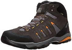 Scarpa Mens Moraine Mid GTX Hiking Shoes Smoke Amber 48 Etip Lite Gripper  Glove Bundle   3c22abb7391