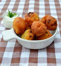 Császárszalonnás-krumplis fánk