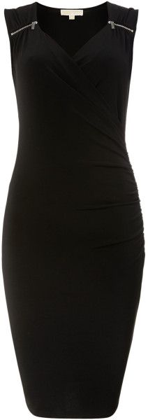 Michael Kors Sweetheart Neckline Dress love.thegoodbags.com    Michael Kors Outlet !Most bags are under $61.99 !THIS OH MY GOD ~