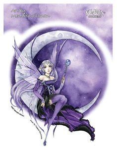 Purple Moon Gothic Anime Fairy T-Shirt Gothic Anime, Gothic Fairy, Fairy Wallpaper, Fairy Paintings, Moon Fairy, Fable, Fairy Pictures, Beautiful Fairies, Anime Fairy
