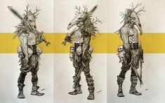ArtStation - Viking Nightmares, Stefan Atanasov