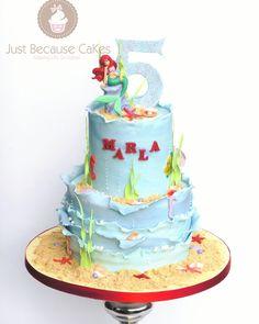 Ariel Cake, Yummy Cakes, How To Make Cake, Birthday Cake, Desserts, Crafts, Food, Tailgate Desserts, Deserts