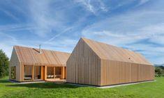 Очень деревянный дом