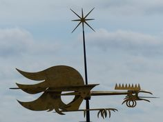 Weather vane, Tallinn old town.