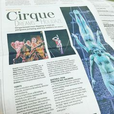 Did you see the #TelegraphHerald today #Dubuque? Cirque Dreams Holidaze is featured and is coming to the #FiveFlagsCenter December 8th! #Iowa #EasternIowa #Madison #Davenport #bettendorf