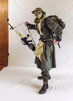 Apoc-Survivor by on DeviantArt Stock Images People, Action Poses, Pose Reference, Bradley Mountain, 18th, Deviantart, Drawing Ideas, Bags, Costume