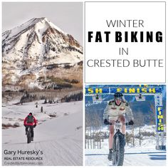 Winter Fat Biking in Crested Butte Bike Trails, Biking, Double Shot, Weather Activities, Crested Butte, World Championship, Cold Weather, Colorado, Fat
