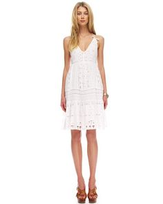 MICHAEL Michael Kors  Sleeveless Eyelet Dress.So lovely, think I must get this.