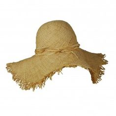 adf3060829a And I Was Like Oversized straw fringe sunhat- natural Types Of Hats