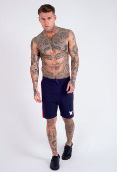 http://chicerman.com  gfnclothing:  Stay chilled and comfortable in the Jog Shorts available in Grey and Navy.  http://ift.tt/1itAXmp  #summerlook