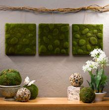 [ Salle Bain Zen Bambou Deco Chambre Decoration Photo Coration Ado Vous Duit ] - Best Free Home Design Idea & Inspiration Moss Wall Art, Moss Art, Diy Wall Art, Diy Wall Decor, Diy Art, Diy Home Decor, Art Crafts, Art Decor, Styrofoam Wall Art
