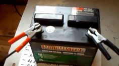 Lead acid battery restoration desulfation recondition in 5 minutes for $...