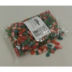 CANDY :: GUMMIES :: SOUR GUMMY BLOCK HEADS-5LB BAG -