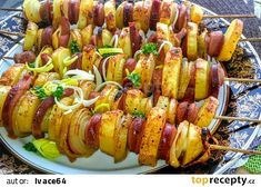 Ratatouille, Baked Potato, Sausage, Food And Drink, Appetizers, Potatoes, Meat, Baking, Vegetables
