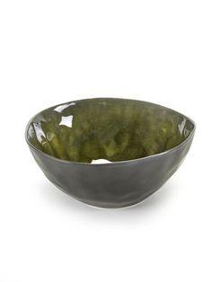 """Schale """"Pure"""" rund,  Keramik geflammt"""
