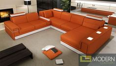 This sectional sofa has beautiful LED light accenting and is available for purchase here: http://moderncontempo.com/modern-leather-sectional-sofa-with-lights-mcnv108a.html