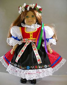 Fits-18-American-Girl-doll-Czech-traditional-folk-dress-clothes-S-COSTUME-ONLY  I sell on eBay at http://stores.ebay.com/Nanis-Niche . If you don't see what you are looking for, please contact me through eBay. I have no affiliation with American Girl / Pleasant Company, or any doll manufacturer.