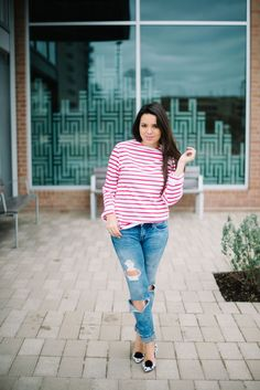 Nautical Stripes - Adored by Alex