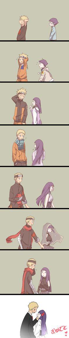 Time drew us nearer. Uzumaki Naruto | Hyuga Hinata | NaruHina