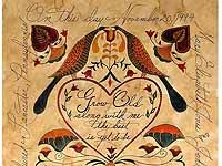 Fraktur Certificate of Marriage--hope to get one someday!