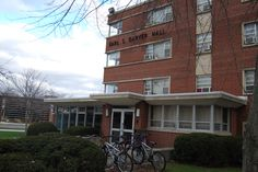 Garver Hall. Garver was the first coed dorm on campus and is the most centrally located. #ManchesterUniversity