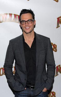 """Cheyenne Jackson Photos - Cheyenne Jackson attends the """"Follies"""" Broadway opening night at the Marquis Theatre on September 2011 in New York City. Ahs Characters, Cheyenne Jackson, Ahs Hotel, Jackson Movie, Most Beautiful People, Family Night, Weird Pictures, Opening Night, Male Beauty"""