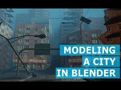 making a city street in blender 2 8 Blender 3d, Blender Models, Hard Surface Modeling, Face Anatomy, Blender Tutorial, Video Game Development, 3d Tutorial, Create Animation, Game Assets