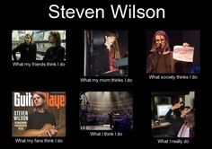 Steven Wilson meme --- Forgive me, but... *laughs herself silly* -- M